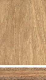 Oak triple-layer panel